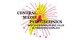 Image result for Central Maine Pyrotechnics logo